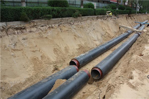 铺设给水管道